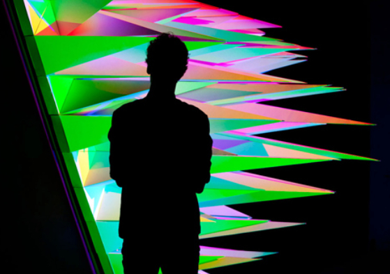 RGB lighting installation by Flynn Talbot casts multicoloured shadows 2