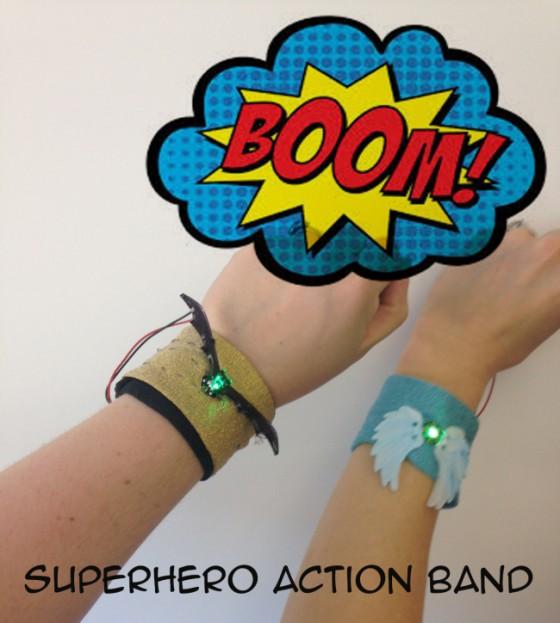 Superhero Bands