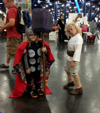 Thor and Jedi