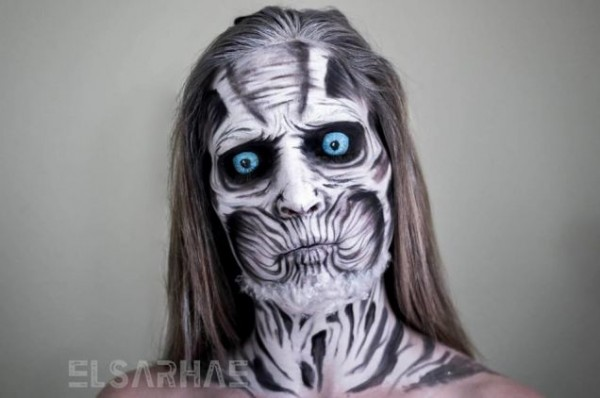 White Walker makeup