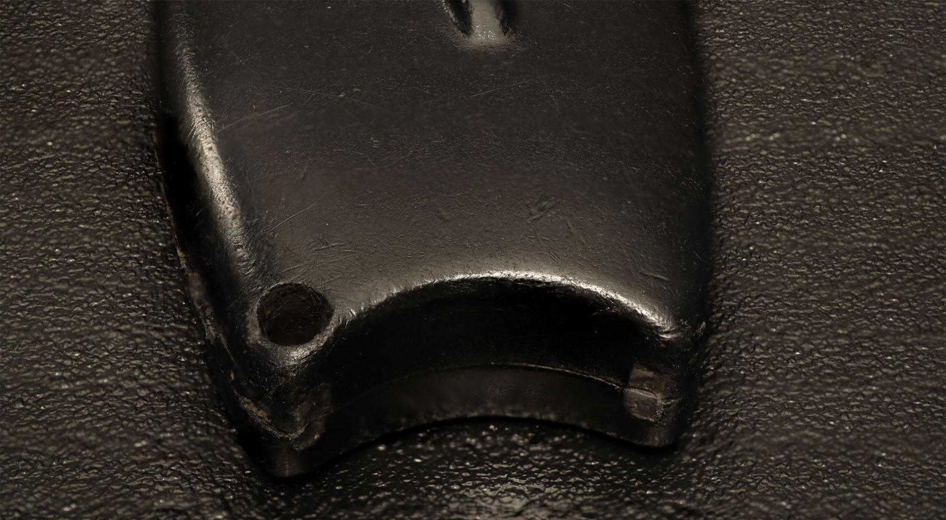 Broken keychain hoop