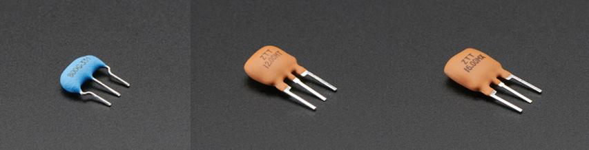 Ceramic resonator oscillators