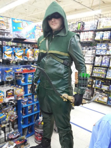 how to make a homemade green arrow costume