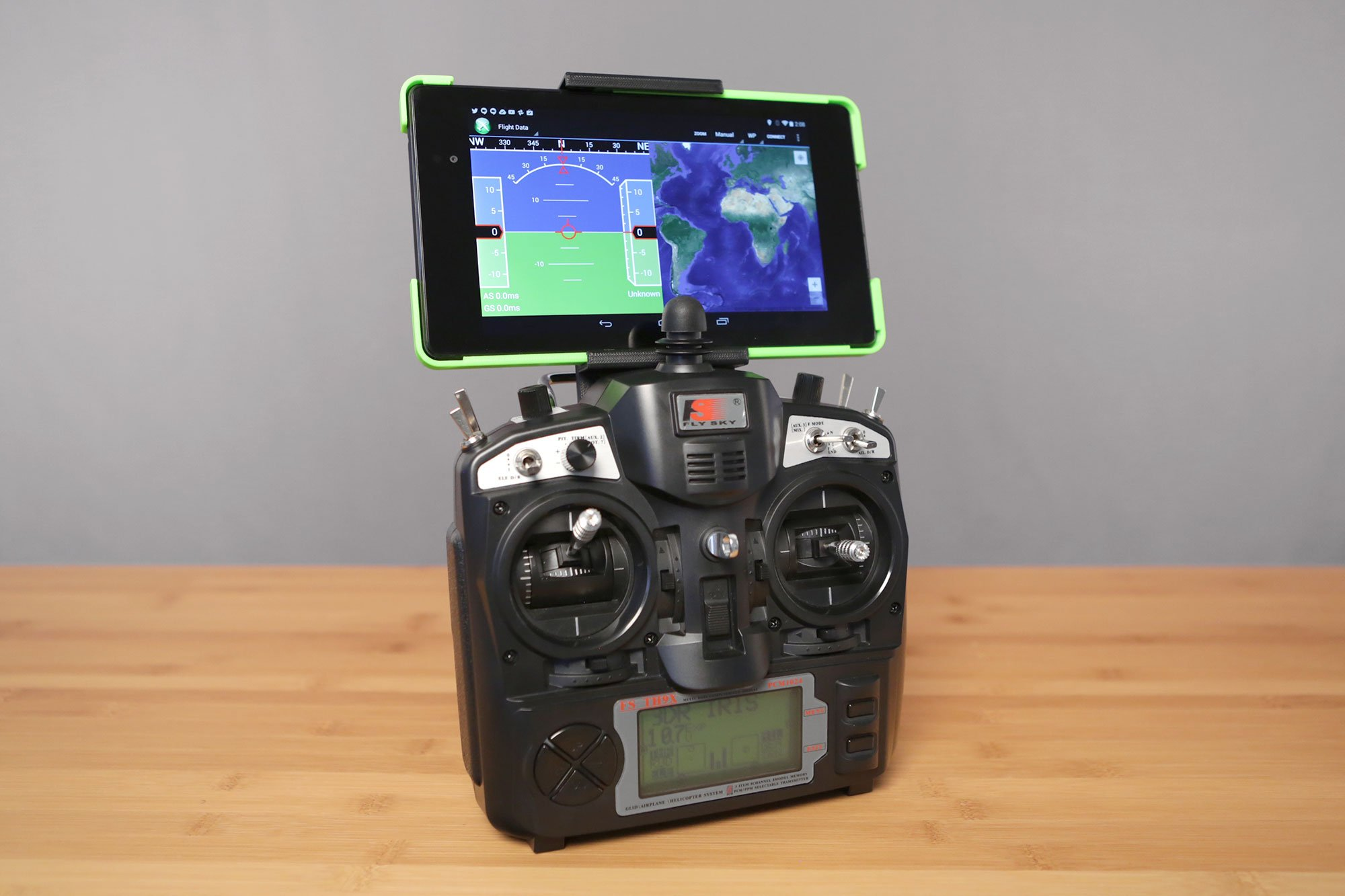 Iris transmitter mount for Nexus 7