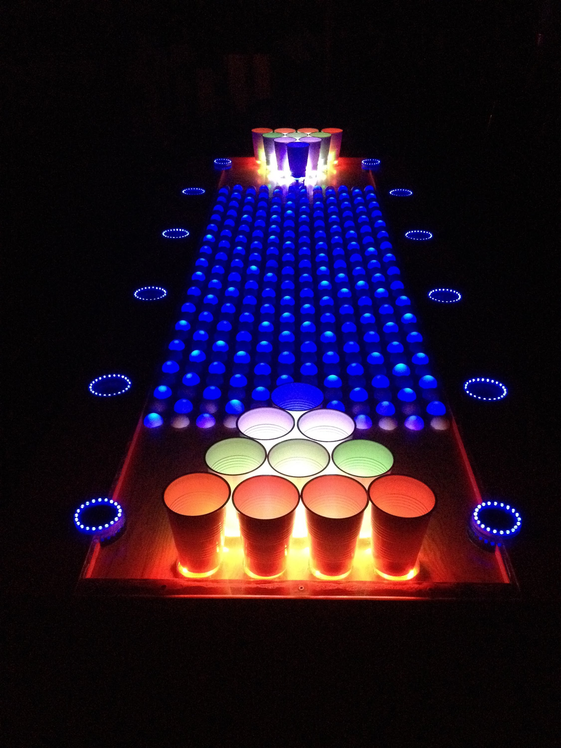Insane Interactive Led Beer Pong Table Leds 171 Adafruit