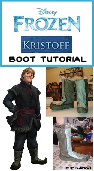 kristoff boot tutorial