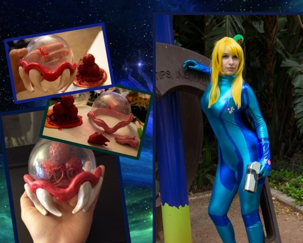 samus aran and metroid