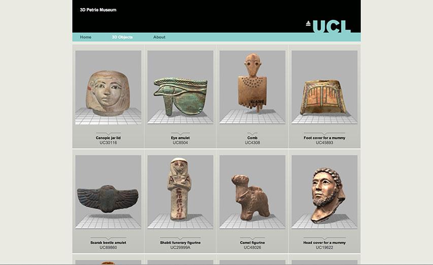 UK Petrie Museum Gallery