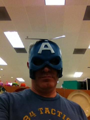 Captain America WIP