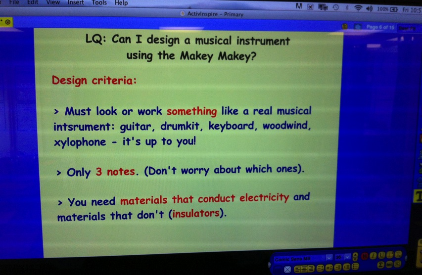 DT lesson making musical instruments with MakeyMakey Flickr Photo Sharing