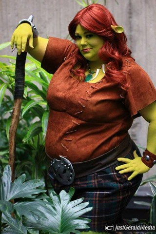 Warrior Fiona Costume From Shrek Forever After Adafruit Industries Makers Hackers Artists Designers And Engineers