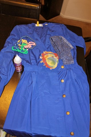 Ms. Frizzle Costume wip