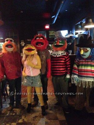 Muppets band costume 2