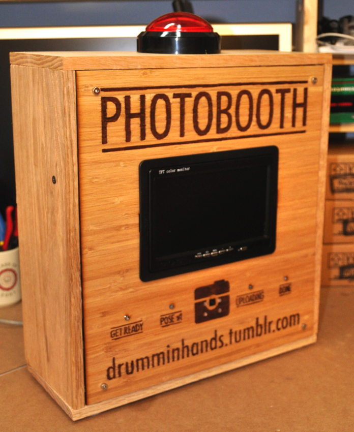 Build Your Own Raspberry Pi Photo Booth Piday