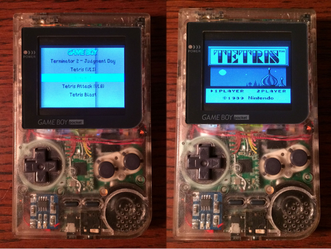 XodusTech Raspberry Pi Gameboy Pocket