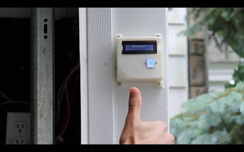 Diy Fingerprint Scanning Garage Door Opener 171 Adafruit