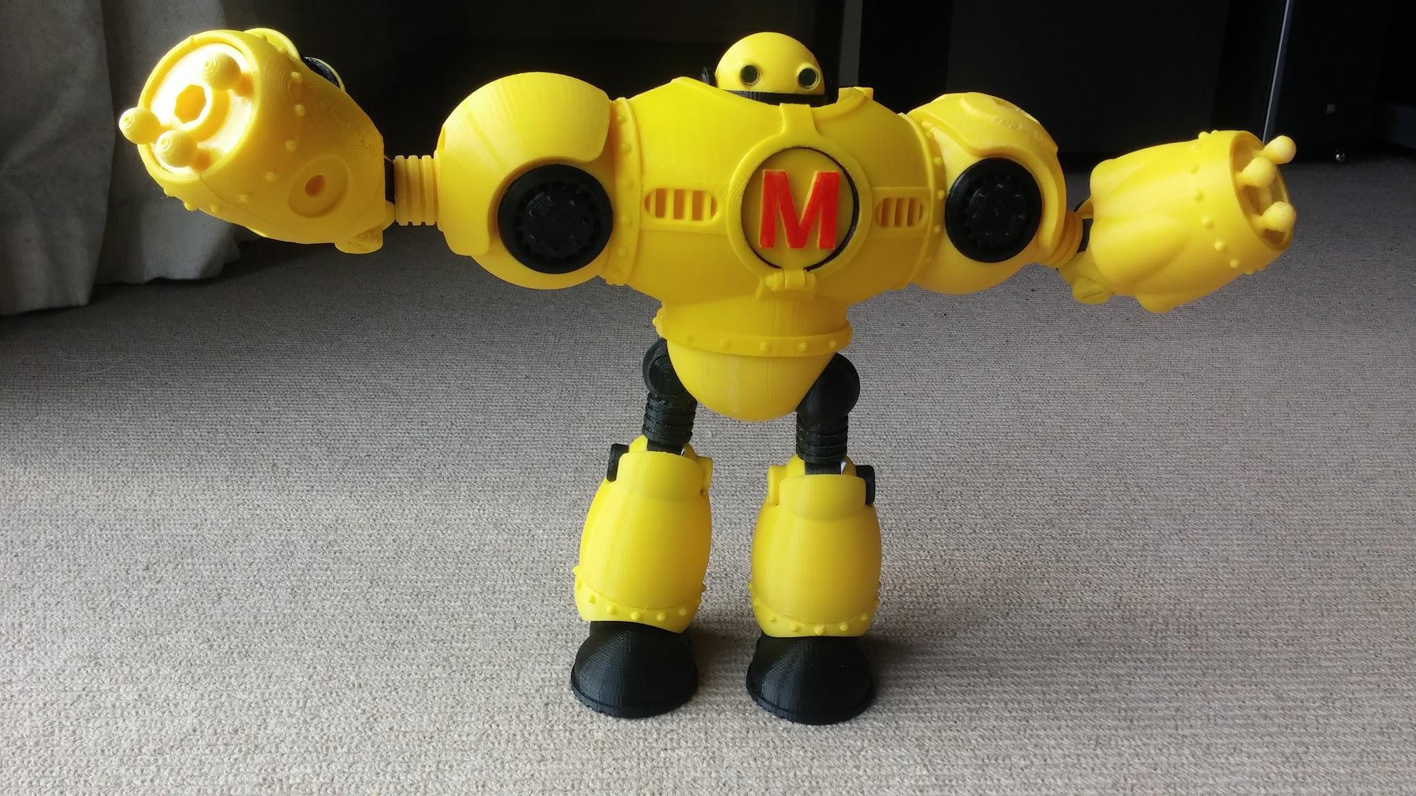 3D Printed Mega Make