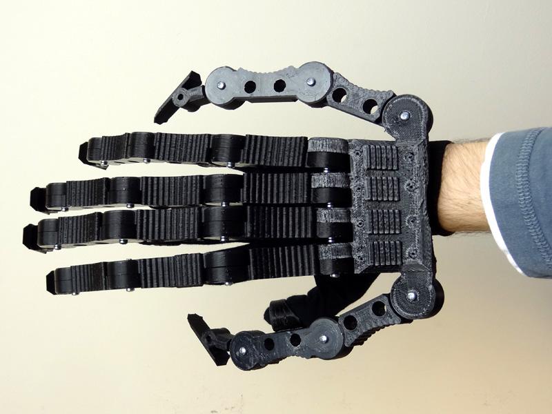 XRobots - James Bruton's 3D Printed Xenomorph Hand