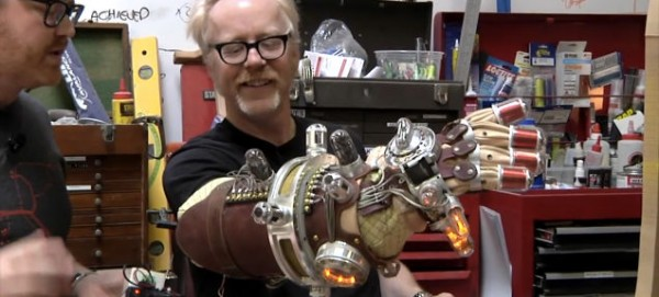 Adam Savage's Hellboy Mecha-Glove Replica