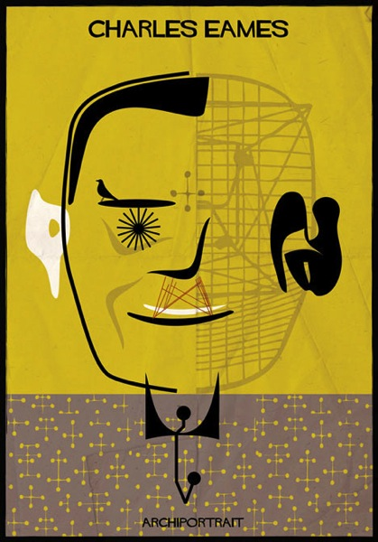 Charles Eames Archiportrait by Federico Babina dezeen 21