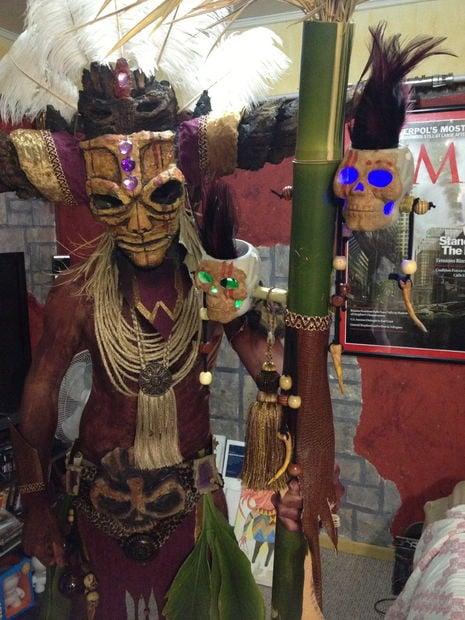 Diablo's Witch Doctor Costume « Adafruit Industries – Makers