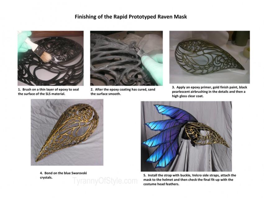 Raven Head Piece Process