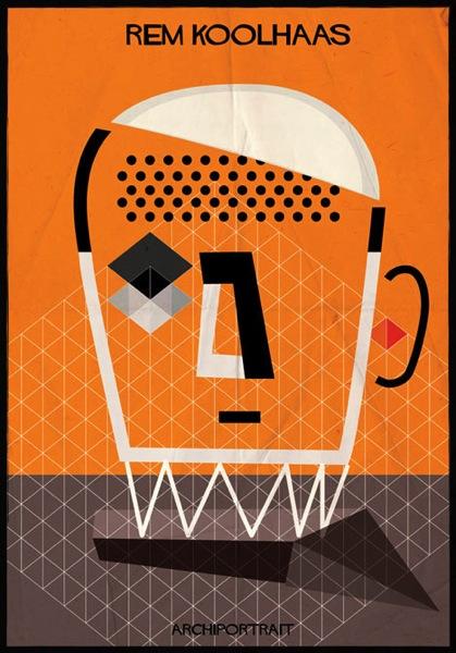 Rem Koolhaas Archiportrait by Federico Babina dezeen 18