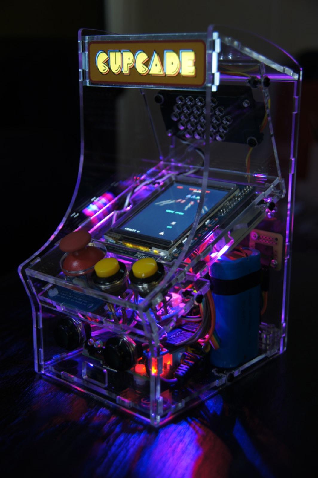 My Cupcade Addiction Transparent Cupcade The Raspberry Pi Powered