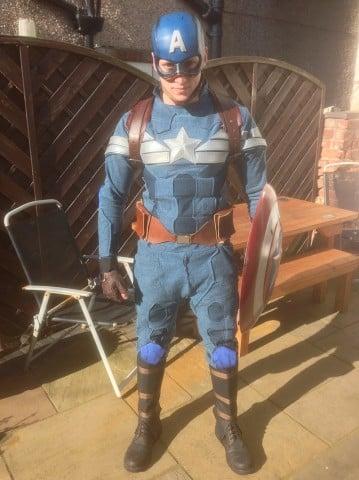 winter soldier cap costume