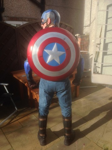 winter soldier cap costume shield