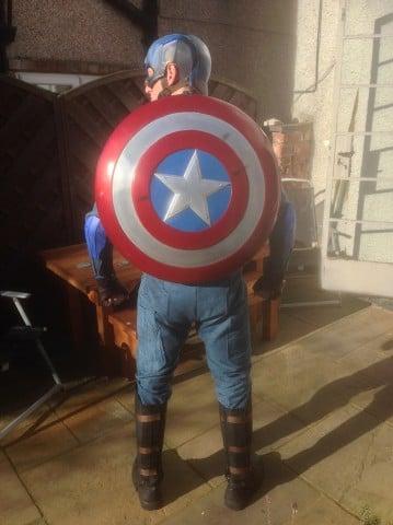 winter soldier cap costume shield