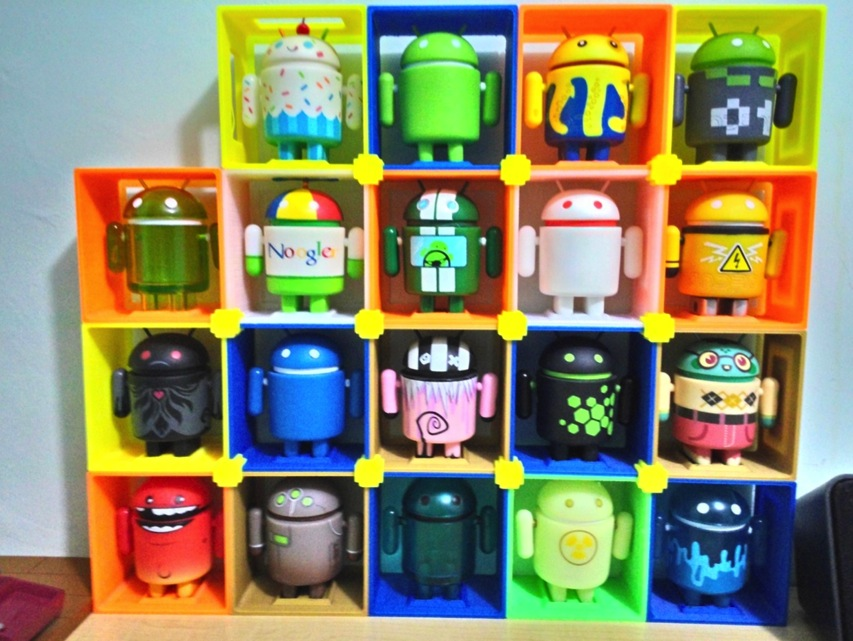 Android figure holder by WindoAC Thingiverse