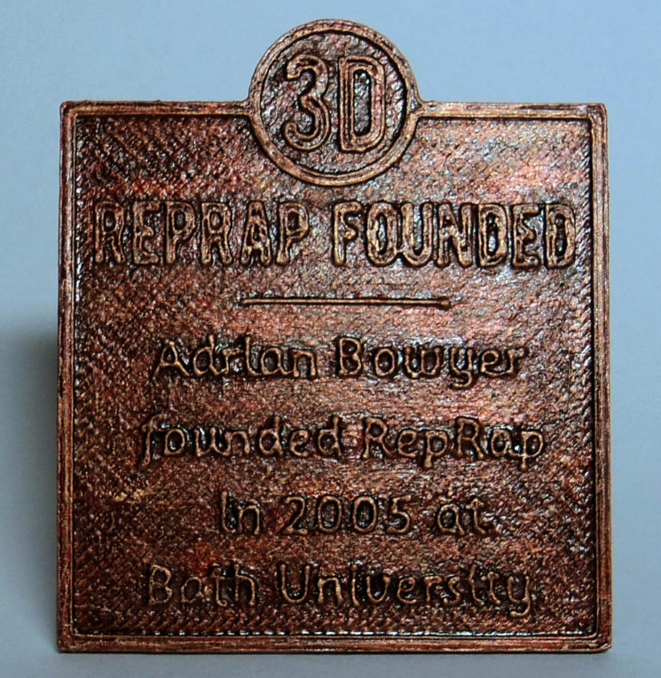 Historical Marker Template and History of 3D Printing by DesignMakeTeach Thingiverse