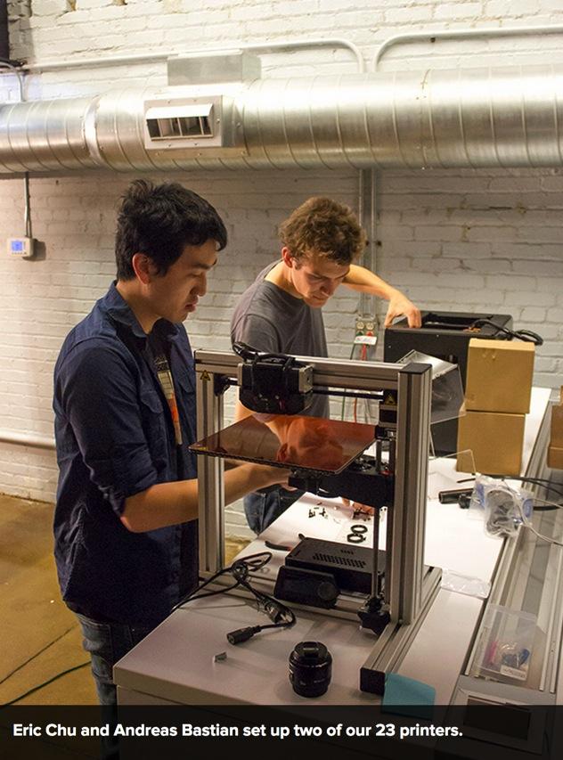MAKE s 3D Printing Review Weekend Begins in Ohio MAKE