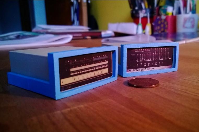 Mini Altair 8800 8800b by RabbitEngineering Thingiverse