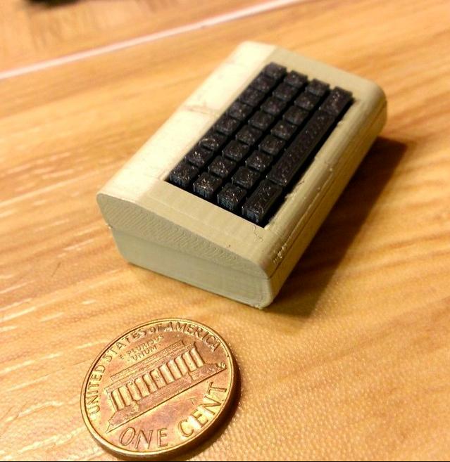 Mini Commodore 64 by RabbitEngineering Thingiverse