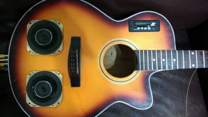 a Banjo-Like Guitar | #DIY #instrument In this three-part series ...