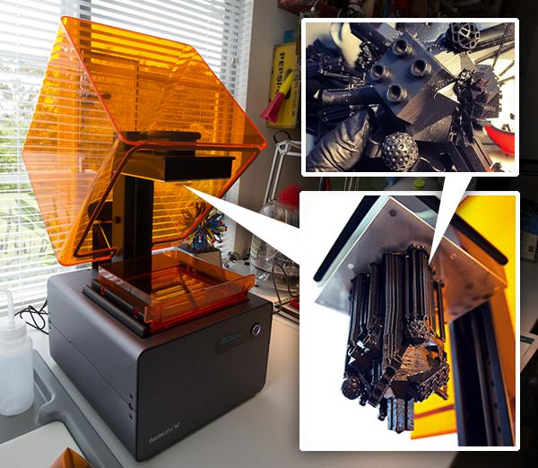 Desktop 3D Printer Spotlight: Unboxing: Formlabs Form 1+ ...