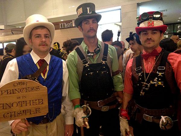 Steampunk Mario Bros