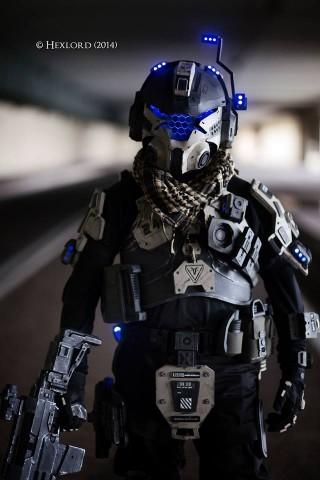 Titanfall IMC costume