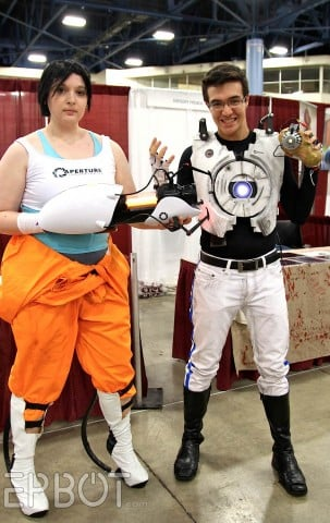 chell and portal