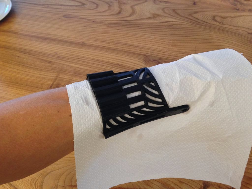 heat form PLA water microwave 2 towel hand