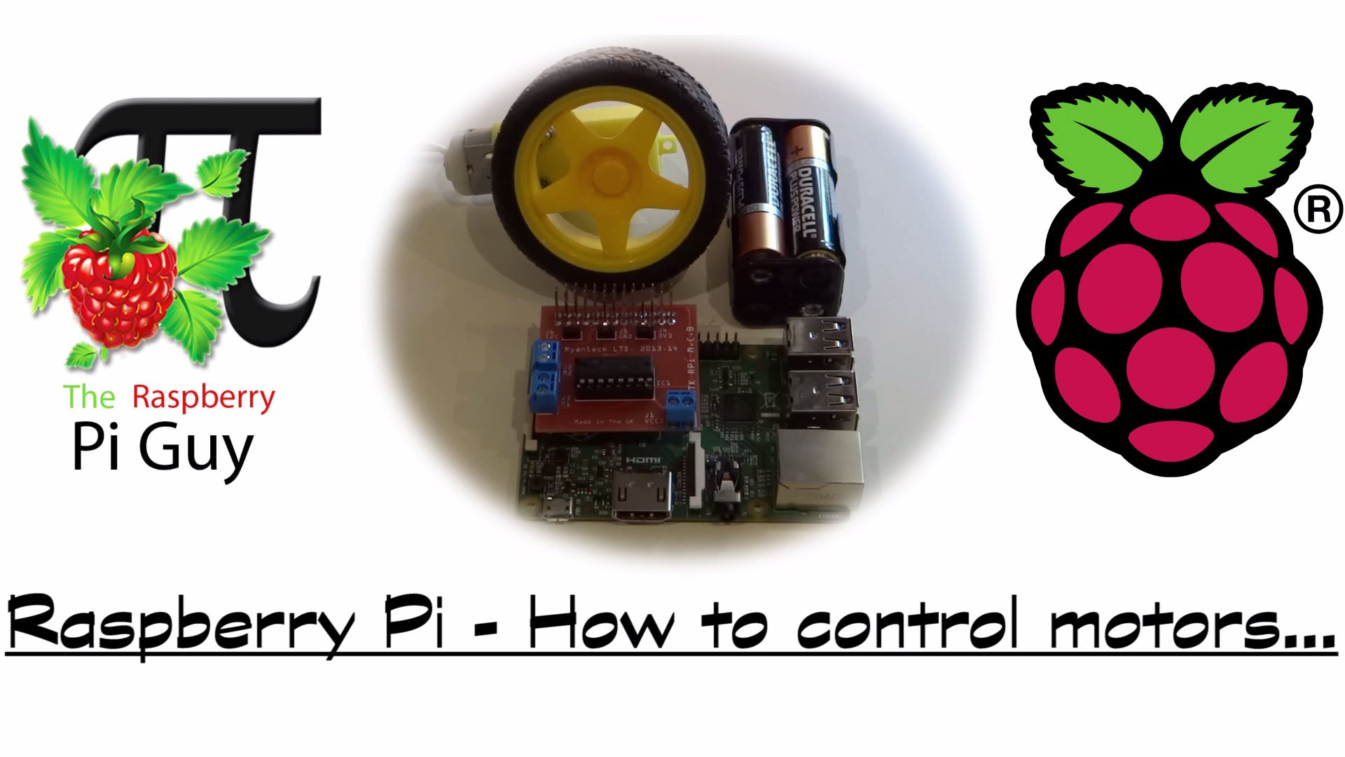 How To Control Motors With Your Raspberry Pi B Piday