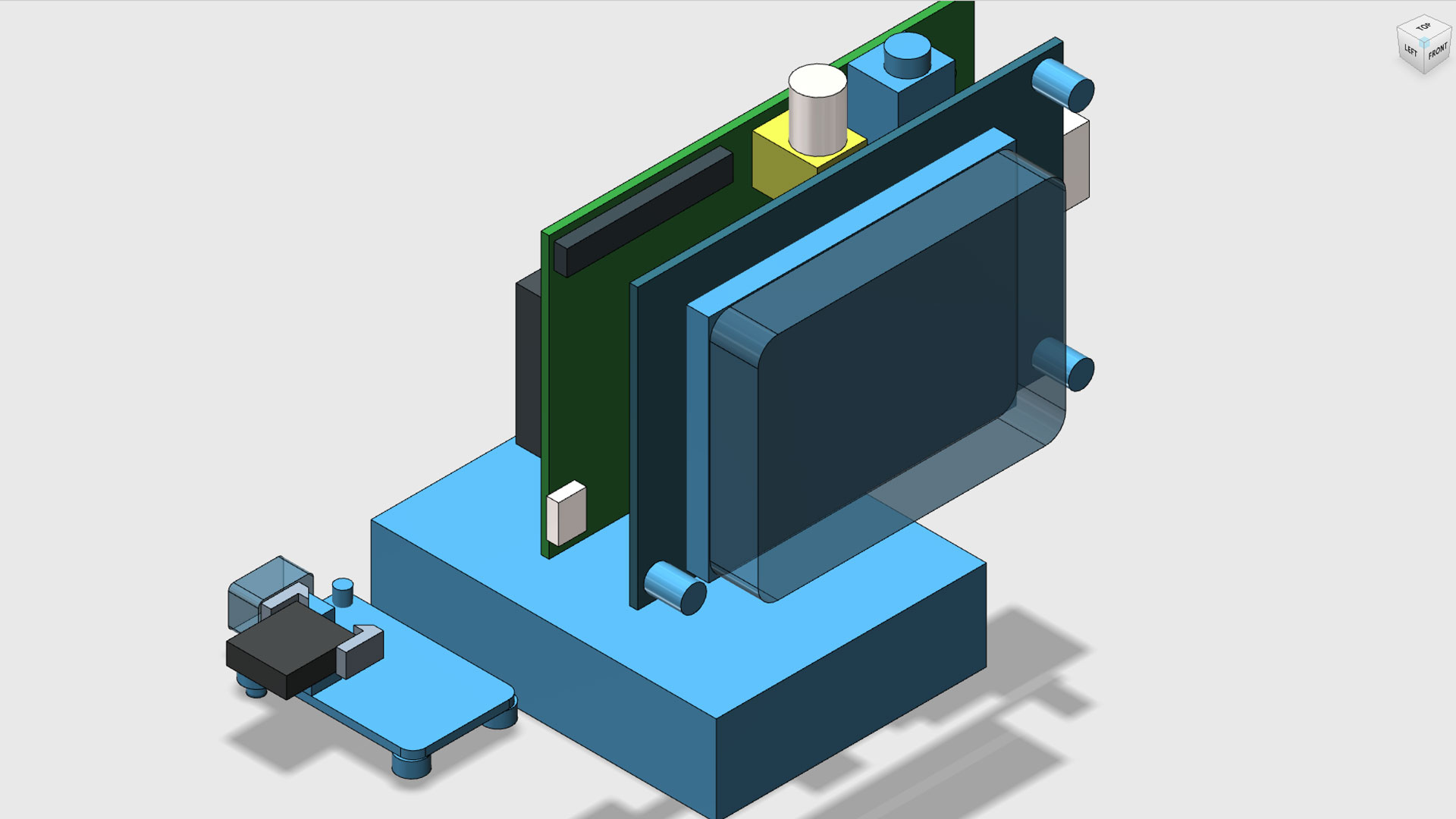 Mac Pi 3D CAD Components 123D Design