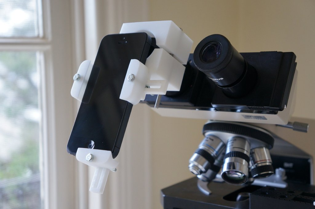 Universal Phone Microscope Adapter 3dthursday 3dprinting