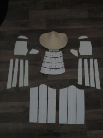 pikachu_samurai_armor__arms__mask__shin_plates_wip_by_andihandro-d7qegrc