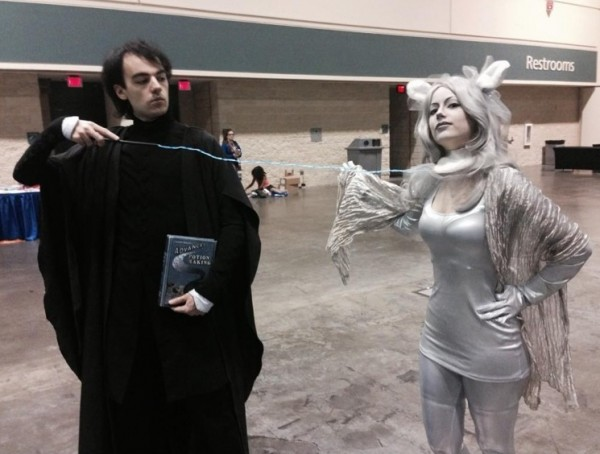 snape and patronus EL wire