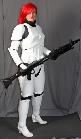 Jes Gistang Female stormtrooper armor