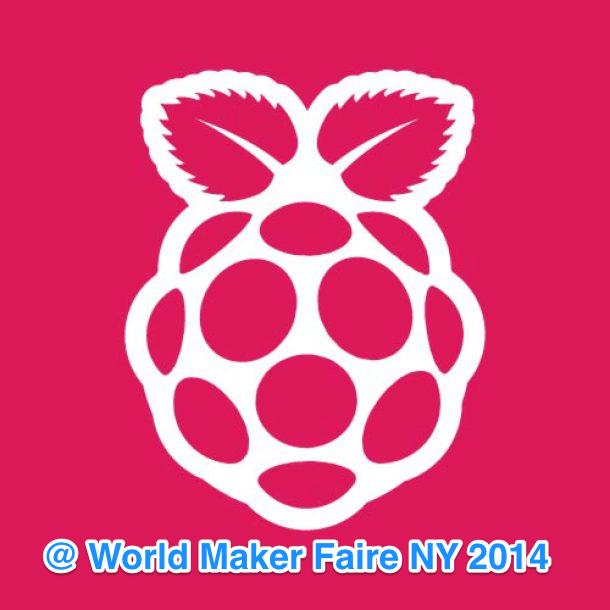 RaspberryPiAtWorldMakerFaire2014