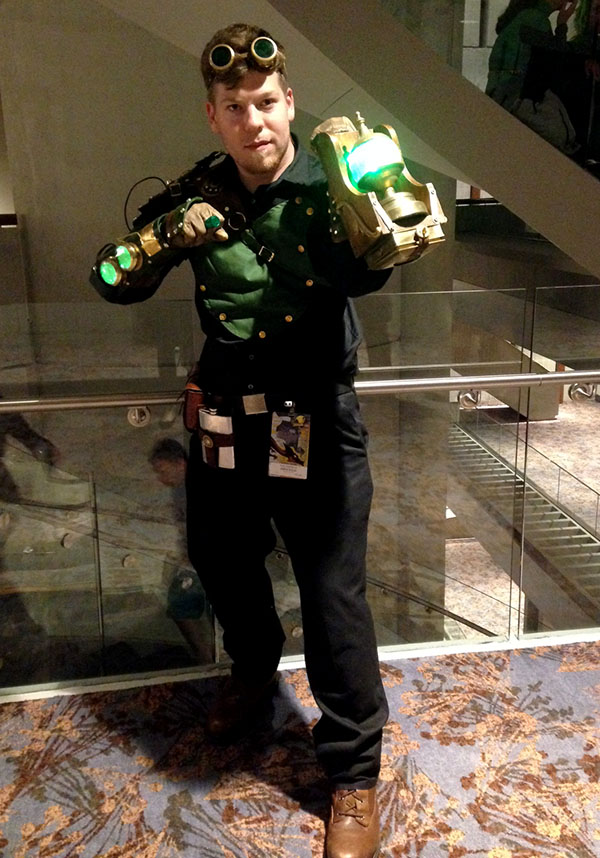 Steampunk green lantern